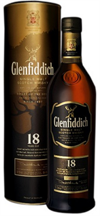 Glenfiddich Scotch Single Malt 18 Year Small Batch Reserve...